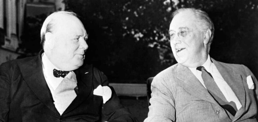 Roosevelt & Churchill